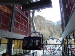 Die neue Talstation der Seilbahn Meran 2000