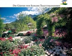Frühling in den Gärten von Schloss Trautmansdorff