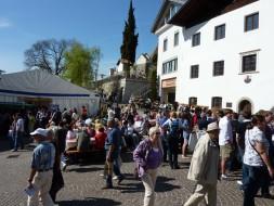 Bauernmarkt in Schenna