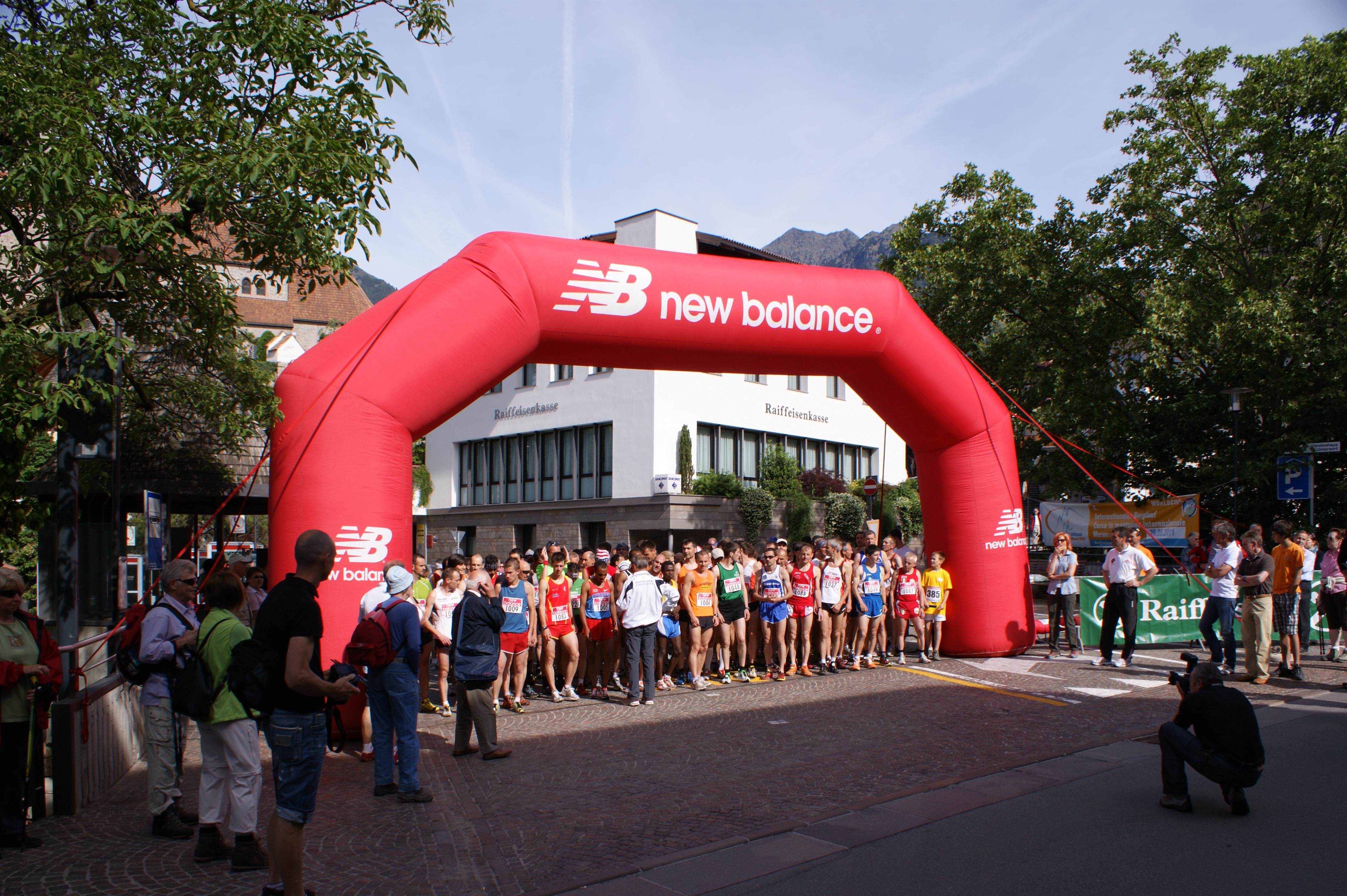 VI. Internationaler Berglauf Schenna - Meran 2000