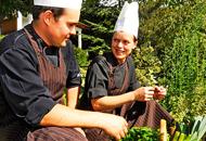 Küchenmeister Albert Raffl und Lisa Raffl