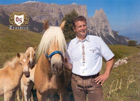 Wandertag mit dem Kastelruther Spatz Norbert Rier am 28. Juni 2012