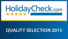 Holidaycheck.com - Qualityselection 2013: Wir gehören dazu!