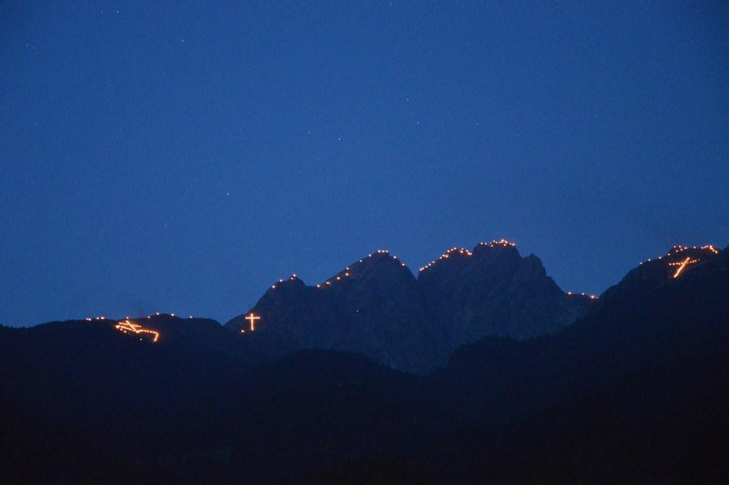 Herz Jesu Sonntag am 29.06. - Bergfeuer im ganzen Land