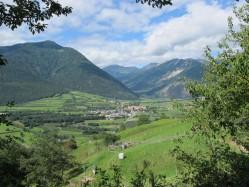 Wanderhotel: Blick in Vinschgau