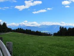 Herrlicher Blick in die Dolomiten